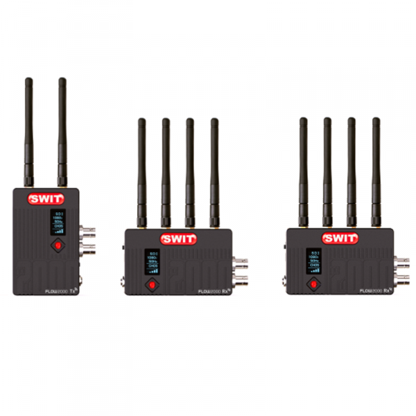 SWIT FLOW2000 Tx+2Rx, Wireless transmision system (2 Receiver)