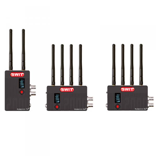 SWIT FLOW2000 Tx+2Rx, Wireless transmision system (2 Receiver)