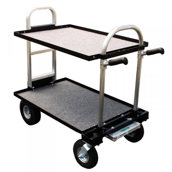 """Magliner Junior (Modified with 30"""" HD Nose, 8"""" Wheel Conv. Kit (Standard), 24"""" Top Shelf, 24"""" Botto - 0"""