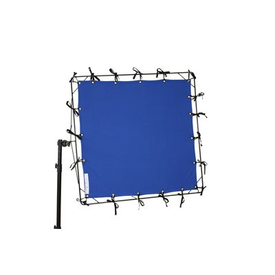 Roscotex 4'x4' 1,12m x 1,12m Chroma Blue - 0