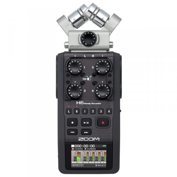 Zoom H6, Mobiler High-End Digitalrecorder - 0