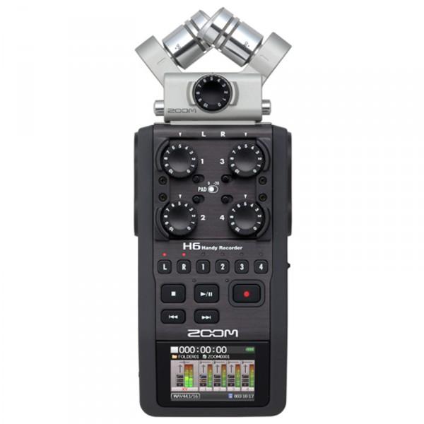 Zoom H6, Mobiler High-End Digitalrecorder - 0