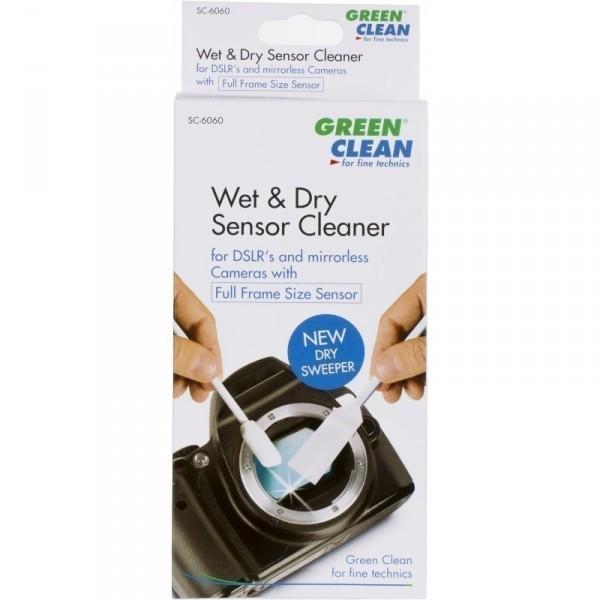 Green Clean Wet & Dry Sensor Cleaner, Full Frame Size Sensor
