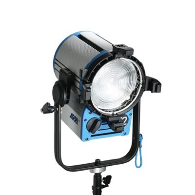ARRI True Blue® T2 MAN 220 - 250 V~ blue/silver Schuko connector L3.41250.D - 0