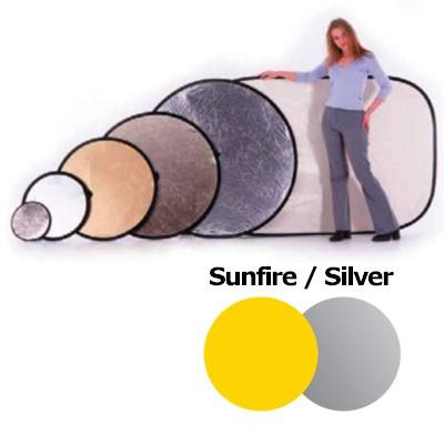 Lastolite LL LR3836 Rundreflektor Sunfire/Silber 95cm - 0