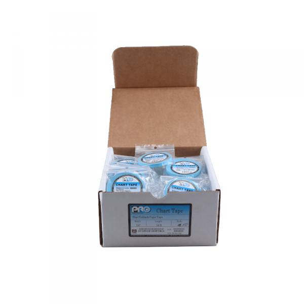 """50x PRO Blue Flatback Paper Tape 1/4""""x54ft, Abverkauf"""