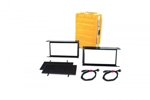 Kino Flo KIT-DL22X-230U, Diva-Lite 20 LED DMX Kit, Univ 230U (2-Unit) w/ Flight Case